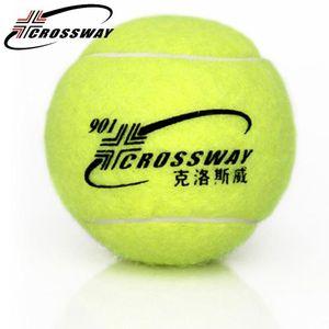CROSSWAY 1pcs tennis ball training competition fitnee tennis ball junior high resistance practice training equipment 901