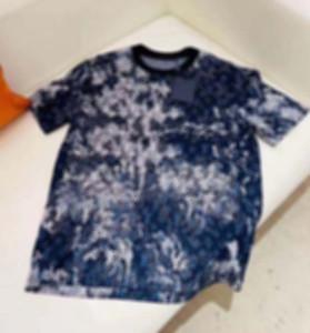21 ss Herren T Shirts T Shirts Gestrickte Stoff Buchstaben Drucken Männer Kleidung Kurzarm Männer Hemden Tag Buchstaben Polo Neue Schwarz Blau