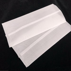 Borsa da stampa LTQ Rosin 2 * 4 2,5 * 4.5 pollici 90 120 micron Fit Vapor Rosin Nylon Mesh Filter Bags per macchina da stampa E-CIG