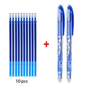 Erasable Gel Pens Blue Black Pen With Cartridge Sales Gifts Boutique Student Stationery Office Pen