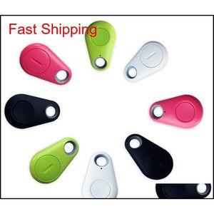 Mini Bluetooth Anti-Ped Streeter Camera Shutter remote IT-06 ITAG Alarma anti-perdida Autopejor Bluetooth para todo el teléfono inteligente 9CURQ