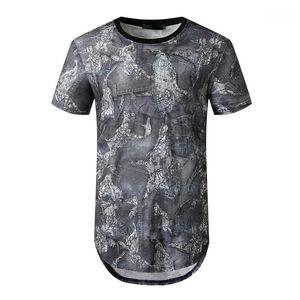 Crew Neck Short Sleeve Casual Tees Mens Clothes Chic Summer Mens Tshirts Fashion Panelled Color Tshirts