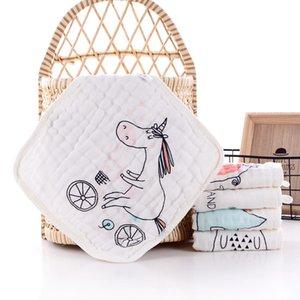 Pure Cato Petite Square Square Belle serviette Visage Visage Pour Enfants Mouchoir De Dessin animé Baby Stuff pour les serviettes nouveau-nées