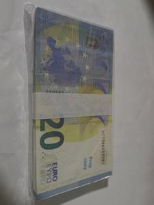 Geld Geld-Spiel Kopie 20 Billet und Gifts 128 Fake Billet Movie Requisite-Prop-Dollar Euro Euro-Spiel 20 Sammlung Geld Faux FMDNU