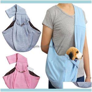 Pet Supplies Home & Gardenpet Puppy Carrier Bag Cats Outdoor Travel Dog Single Shoulder Cotton Comfort Sling Handbag Tote Pouch Car Seat Ers