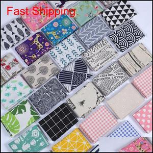 Cotton And Linen Tea Towel Leaf Printing Table Napkin Water Uptake Dinner Cloth Many Styles 4 5Sd C Nzir0 Jc0Kf