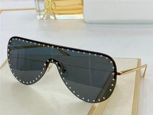 2230 New Advanced men and women sunglasses fashion Half frame UV400 ultraviolet protective glasses steampunk summer oval style send box