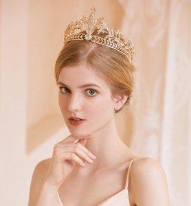 Bride Crown Luxury Hair Accessories Headpieces Rhinestone Headband Wedding Photography with Makeup Bridesmaid Weddings Diadem Tiaras