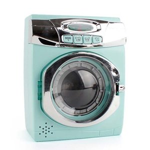 Children Kitchen Toy Simulation Washing Machine Oven Play House Role Play Toys 210308