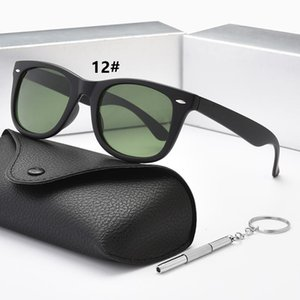 High quality trend polarized lens aviator fashion sunglasses for men and women brand designer retro sports glasses with box AAA1