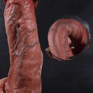 Soft Huge Dildo Female Masturbator Realistic Penis Fake Dick Liquid Silicone Suction Cup Big Dildos for Women Adult Sex Toys