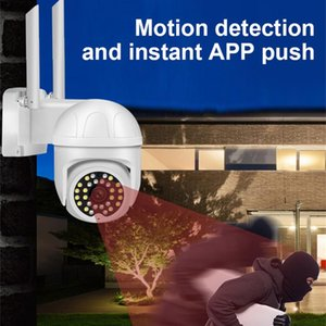 Camcorders WiFi IP Camera 1080P Wireless Security Smart AI Human Detection Outdoor Waterproof Monitor Surveillance