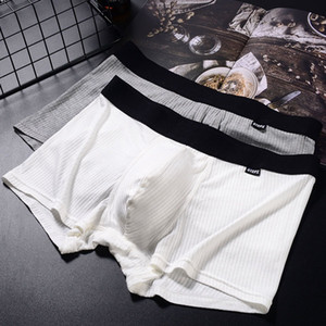 Mens Boxers Shorts Underwear thread modal Thin and breathable Boxer underwear Men s Sexy Casual Man Breathable Underwear Shorts