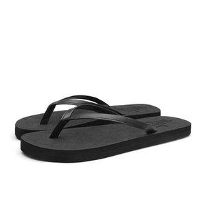 Summer Slippers Men Black And White Man Shoes Light Men Flip Flops Slippers Anti-Slip Breathable Sandals Men el Slipper 210908