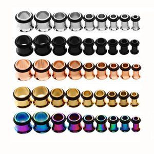 1.6mm-10mm18 pieces of stainless steel ear expanderZHK0