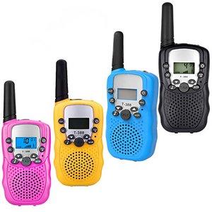 T388 Children Radio Toy Walkie Talkie Kids Radios UHF Two Way T-388 Children's Walk Talkies Pair For Boys