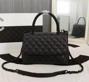 Los mejores bolsos de diseñador de lujo en las cadenas negras de lujo bolsas de hombro en las latos de diamantes cubren las bolsas de Crossbody Cross Cross Bucket Totes Fashion Wallet Monedero #