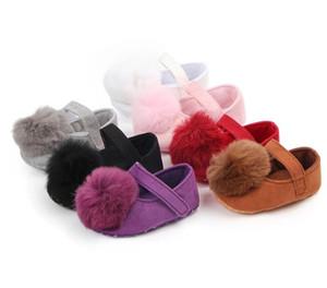 Pompom Baby Shoes Newborn Girl Bebe Moccasins Soft Moccs Shoes Toddler Infant First Walkers Bebe Soft Soled Prewalkers