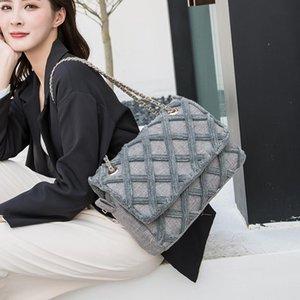 Mode große umhängetasche frauen reise taschen leinwand gesteppt tasche weibliche luxus handtaschen frauen taschen designer sac a main femme