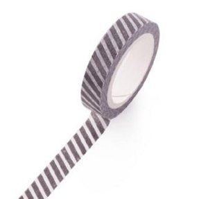 2021 Wholesale- 2016 W-Free shipping 8mm*7m classical white and black washi adhesive decorative tape