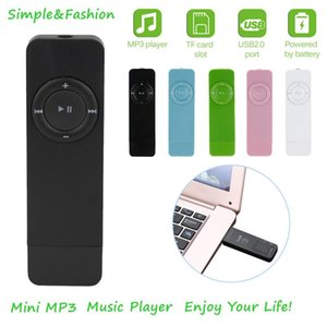 Portable MP3 Player USB In-line Sport MP3 Player Lossless Sound Music Media Support Micro TF Card Portable Audio