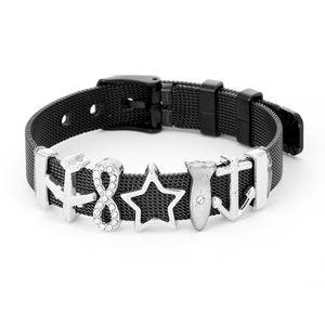 Fashion Simple Lovers Stainless Steel Keeper Bracelet