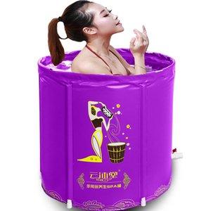 Adult Warm Folding Bath Barrel Bath Barrel Inflatable Fumigation Bathtub Tub