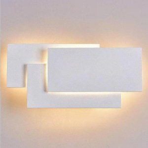 Wall Lamps Creative simple bedroom bedside living room dining room hotel study corridor aisle lamp LED tower stacked wall lamp