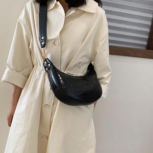 Vintage Fashion Female Tote bag 2021 New High Quality Leather Women's Designer Handbag Crocodile pattern Shoulder Messenger Bags