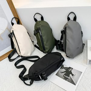 Men Chest Bags Women's Nylon Sling Backpack Casual Male Fanny Pack Girls Sports Crossbody Handbags Unisex Phone Wallet