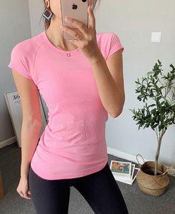 lu woman yoga shirt new 2.0 womens short sleeve T-shirt seamless lu swiftly tech top sports breathable suit 2020 K7qH#