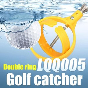 1Pc Golf Ball Pick Up Tools Golf Ball Retriever Retracted Pick up Automatic Locking Scoop Picker