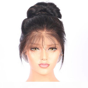 360 pelucas frontales de encaje completo pelucas humanas pelucas de encaje pelo largo cabello humano