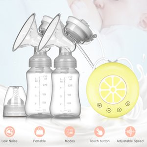 Single Double Electric Breast Pump BPA free Powerful Pumps USB With Baby Milk Bottle Cold Heat Pad