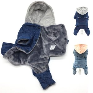 Clothing Pets New For Puppy Luxury Jackets Dog Small Big XXL Animal Pet Winter Warm Jean Yorkshire Dachshund Cat Products