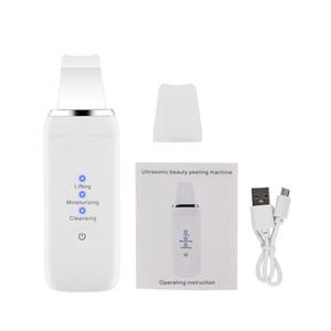 الموجات فوق الصوتية الوجه الجلد الغسيل USB قابلة للشحن الوجه نظافة تقشير الاهتزاز البثرة إزالة أدوات أنظف المسام