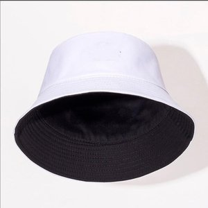 Wholesale Fashion Designer Letter Bucket Hat Mens Womens Foldable Caps Black Fisherman Beach Sun Visor Sale Folding Man Bowler Cap casual