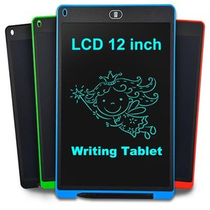 12 Inch Smart LCD Writing Tablet Painting eWriter Handwriting Pad Electronic Digital Drawing Graphic Tablet Board Children gift Free Ship
