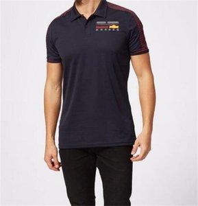 2021 сезон F1 Racing Team Team Polo с короткими рукавами с короткими рукавами с короткими рукавами Мужчины и женщины Мотоцикл Скорость капитуется поло с короткими рукавами полиэстер быстро сушка может