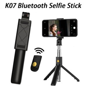 3 in 1 Wireless Bluetooth Selfie Stick Foldable Handheld Monopod Shutter Remote Extendable Mini Tripod for iphone Android Huawei
