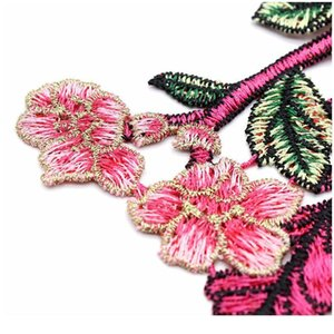 8 Color 3d Flower Guipure Collar Fake Neckline Lace Trim Embroidered Neck Applique Sewing Craft Embroider jllNhY