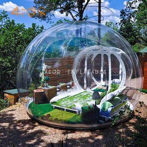 Ücretsiz Fan Şişme Kabarcık Evi 3 M / 4 M / 5 M Dia Açık Kabarcık Çadır Kamp PVC Ağacı Çadırı Için / IGloo Çadır