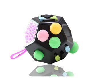 12-Sided Magic Cubes Anti Stress Cube Decompression Relieve Dice Anti-anxiety Relieve Anxiety Relief Depression children adults fun Toys