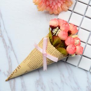 Mini Rose Rose Mainspaper Fool Fleur Ornements Photographie Fond de photographie Personnes Sans personnage Fleurs artificielles FWA3783