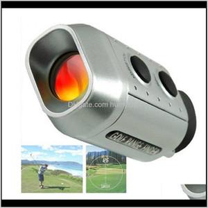 7X930 Yards Digital Optic Telescope Laser Golf Range Finder Golf Scope Yards Measure Distance Meter Rangefinder 7X Magnification F2Hom M64A2