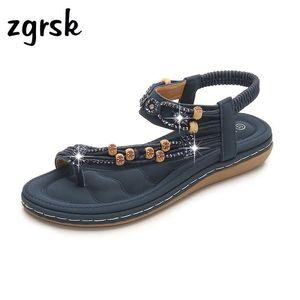 Sandals Fashion Platform Vintage Designer Female's Sandles Flat For Women Female Shoes