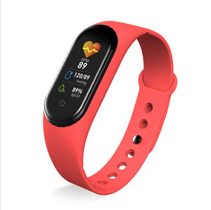 New M5 color screen smart Heart rate pressure blood oxygen health monitoring exercise Bracelet