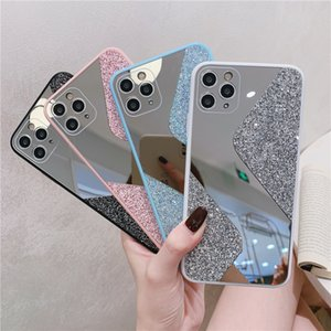 Luxury Glitter Mirror Case For iPhone 12 Back Cover For iPhone 12 Pro Max XS Max XR Plus 7 8 Plus Phone bag