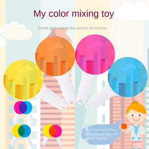Cognition Color Filter Board Children's Color Recognition Science Physics Experiment Early Educational Toys