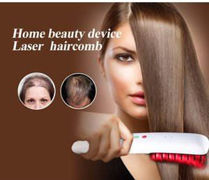 New technology hair care safe electric 650nm low Level Diode Laser Hair Regrowth laser Hair regrowth laser comb for hair growth